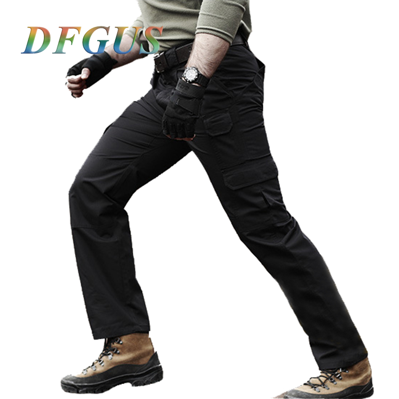 2017 New Men Tactical Pants Military Camouflage Cargo Pants Army Active Pants Men Trousers
