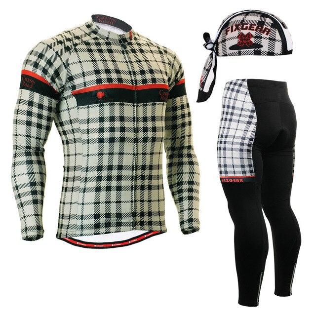 ФОТО Life on Track Skin Long-lasting Graphic Long Sleeve running Jersey Set MTB Road sports Jackets Tops Shirts Padded running Pants