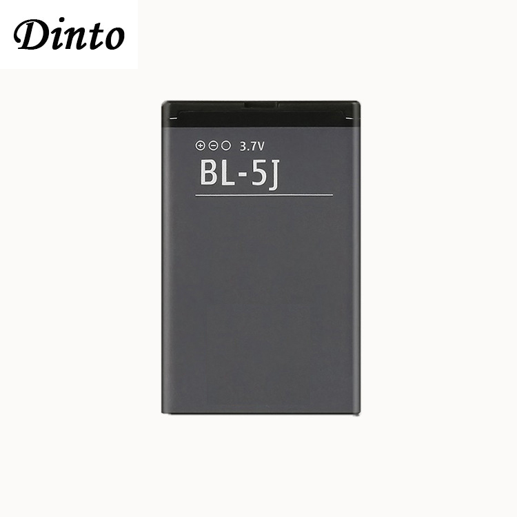 Dinto 1pc 1320mAh BL-5J BL5J BL 5J Phone Battery For Nokia 5230 5233 5800 3020 XpressMusic N900 C3 Lumia 520 525 530 5900