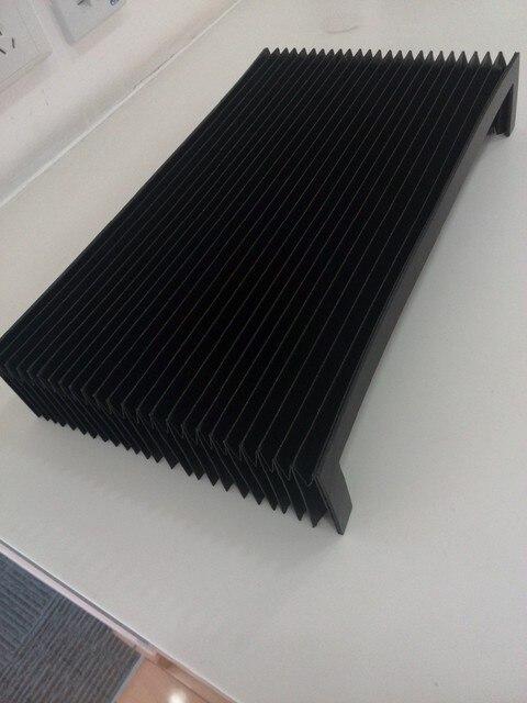 Cnc akkordeon faltenbalg schutz deckt W800mm x H90mm x L400mm