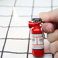 New style Cigarette Accessories Butane gas lighters 2019 New Fire extinguisher shape lights lighter