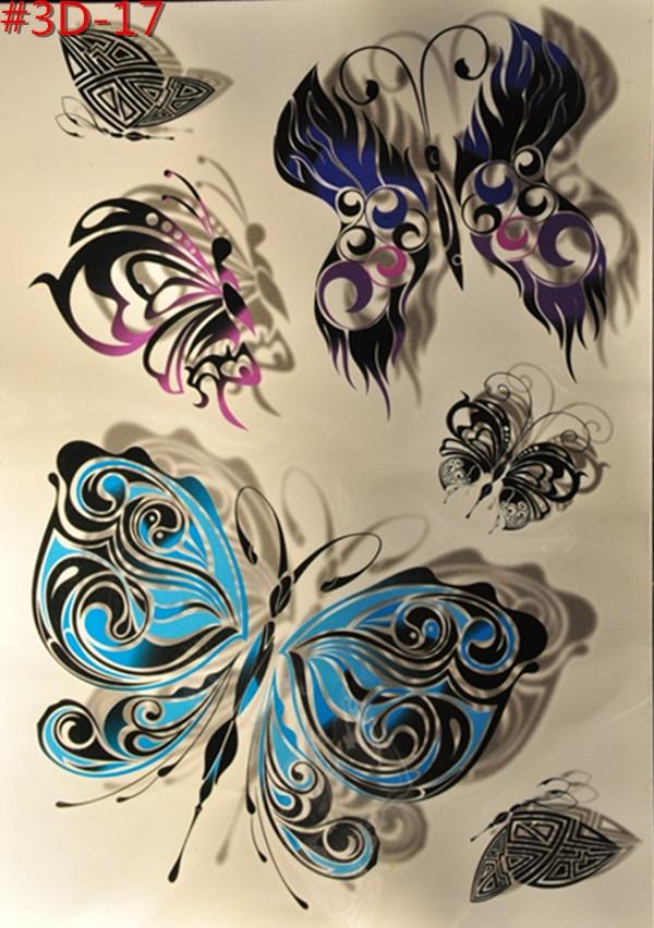 Nowo Przybyłych Elf Kostium Biżuteria Kolor 3 D Anioły Motyl