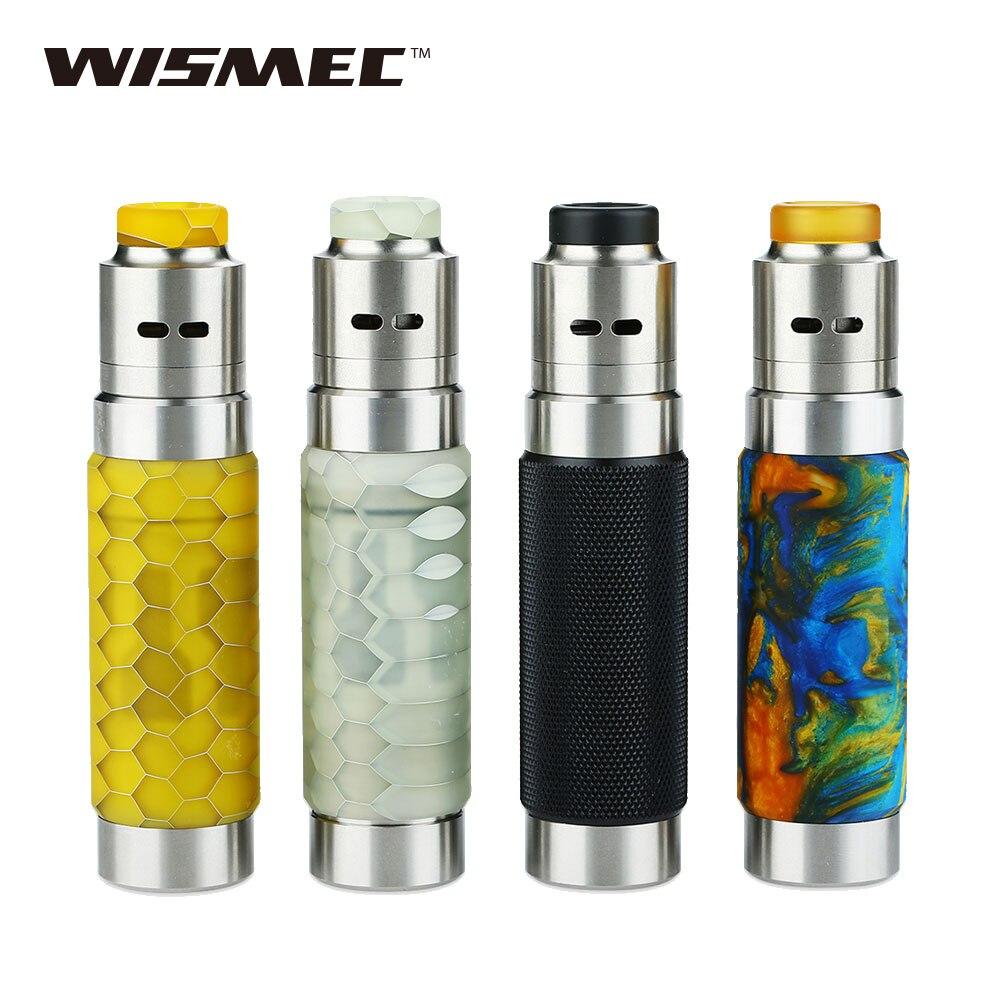 100% d'origine WISMEC Reuleaux RX Ma chine 20700 Kit complet Guillotine RDA réservoir e cigs Vape Mod pas de batterie RX Ma chine 20700 MOD