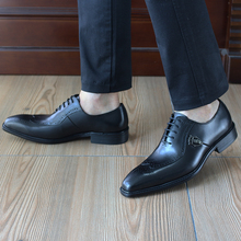 FELIX CHU Italian Pure Handmade High Quality Classic Oxford Formal Black Men Shoes Cow Genuine Leather Office Work Shoes 1815-01