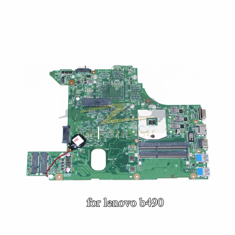 48.4TD07.01M Main Board For lenovo B490 v480 Laptop motherboard HM77 GMA HD4000 DDR3 Full tested original for lenovo b490 v470 motherboard mainboard 48 4td01 011 100