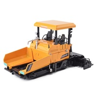 ZXZ 1:40 kids toys paver shop truck cars metal toy mixer truck cars model for children diecasts classic gift for boys