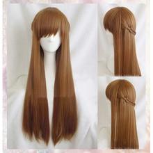 [COSME WIGS] Tohru Honda High Quality Long Brown Braid Cosplay Wig Anime Fruits Basket Synthetic Hair + Free wig cap