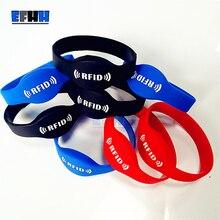 125Khz EM4305/EM4205 Rewritable RFID Bracelet Silicone Wristband Watch Copy Clon