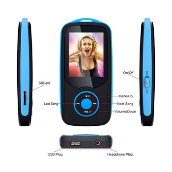 радиочасы с блютузом   2018 новый оригинальный Rumizu X06 16 Гб Bluetooth 4,0 MP3 музыкальный плеер 1,8 дюймов цветной экран меню без потерь Walkman с Fm-радио, запись