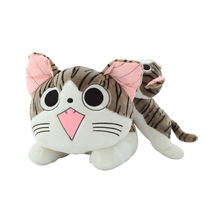 1pcs 20cm Christmas Birthday Gifts Japan Anime Figure Cheese Cat Plush Stuffed Toy Doll Pillow Cushion Kawaii For Kid