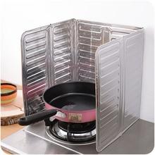 Защитная доска для кухни, приготовление пищи жарка, масло, защита от брызг, экран, газовая плита, удаление ожогов, алюминий, Новая Фольга, инструменты, аксессуары
