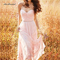 2016 Chiffon Pink/Light Champagne Bridesmaid Dress In Stock Dress Vestido De Festa Fe Casamento US4-6-8-10-12-14 QQ-56