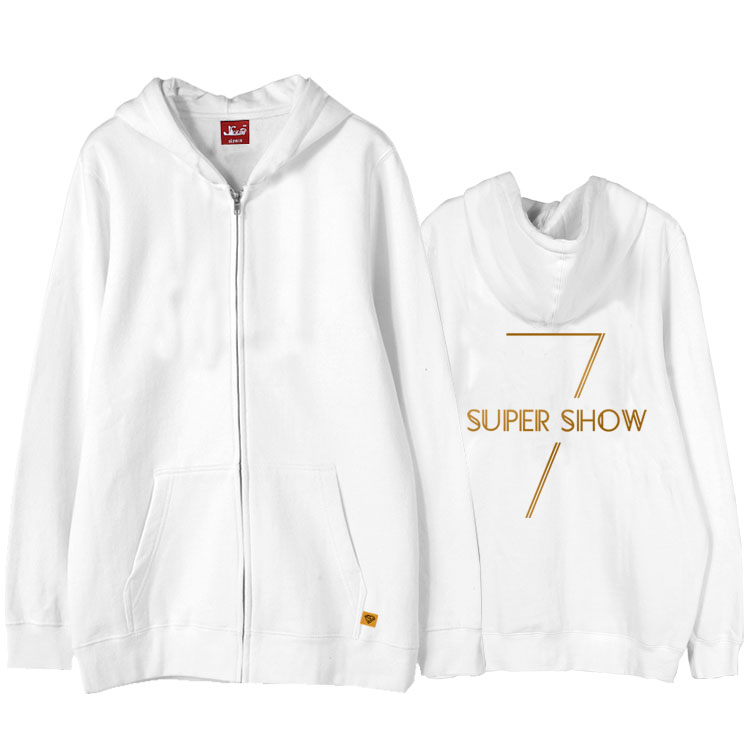 Super Junior Zipper Hoodies