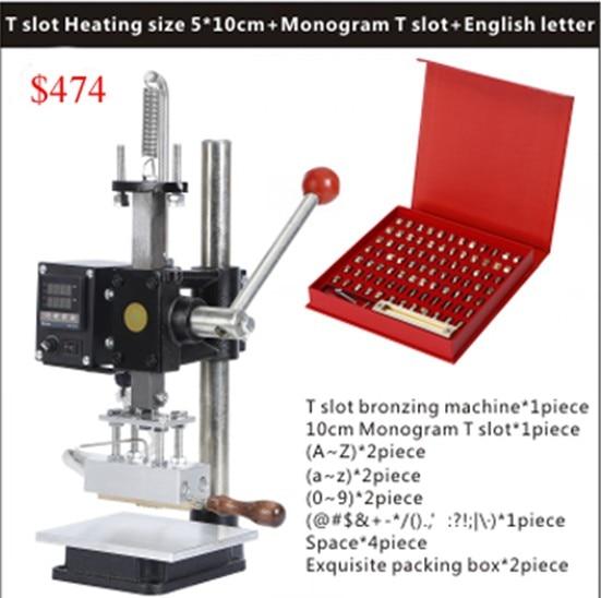 Stamping Mould Hologram Hot Stamping Machine Pneumatic Hot Foil Stamping Machine