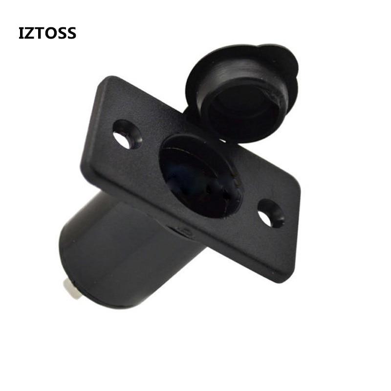 IZTOSS Car Accessories Useful Lighter For Car 12V Car Motorcycle Vehicle Cigarette Lighter Socket Power Outlet Plug Adapter