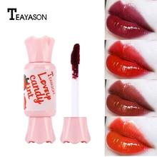 TEAYASON Lips Makeup 6 Colors Liquid Lipstick Mirror Surface