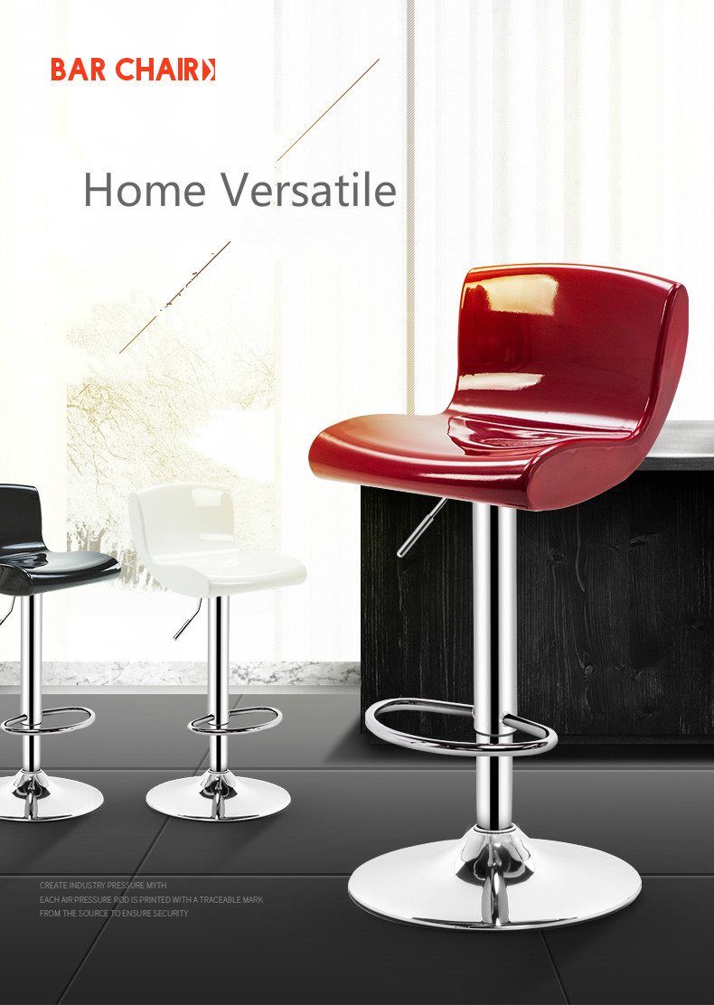 Bar Furniture Simple Design Lifting Swivel Chair Bar Counter Dinning Chair With Footrest Cafe Restaurant Ergonomic Cadeira High Quality Simple Keep You Fit All The Time Furniture