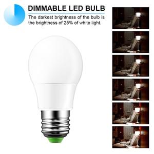 Image 5 - E27 LED 16 צבע שינוי RGB קסם אור הנורה מנורת 85 265V 110V 120V 220V RGB Led אור זרקור + IR שלט רחוק