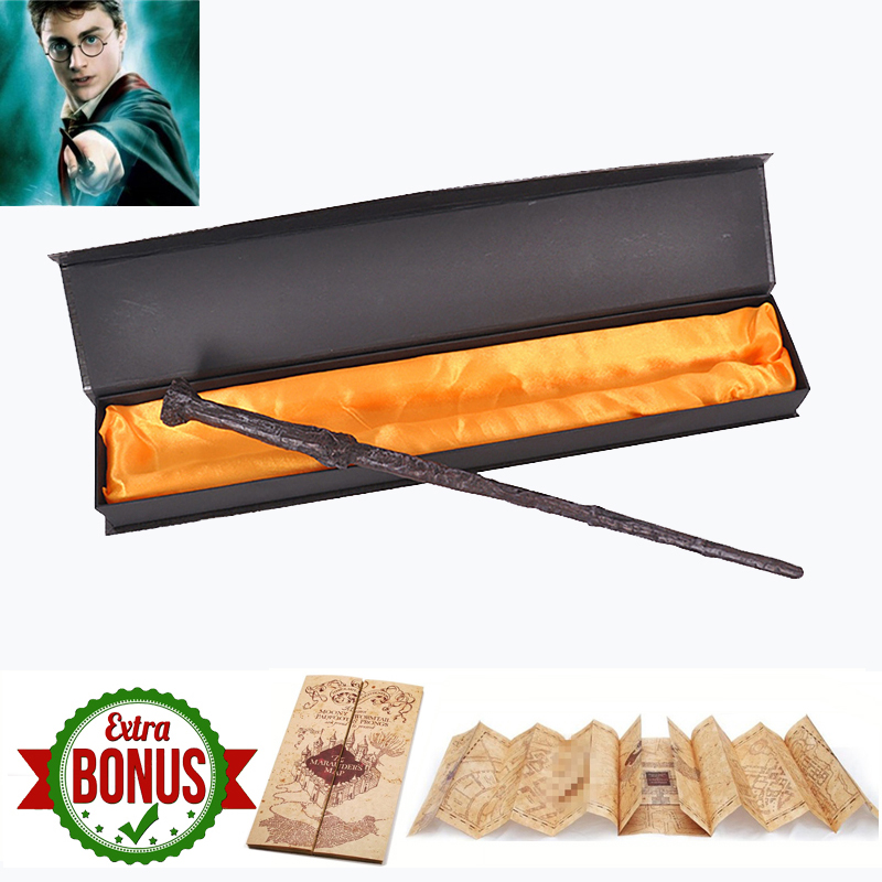Magic Wand With Box Snape Voldemort Ron Hermione Dumbledore Luna Magic Wand The Marauder's Map As Gift