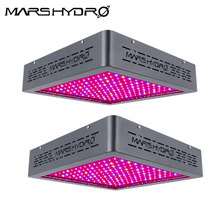 2PCS Upgraded Mars Hydro Mars II 900W LED Grow Light Full 12 Band Spectrum IR Indoor Plant Veg/bloom Hydroponic System Planting