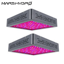2 Pcs Upgrade Mars Hydro Mars II 900W LED Grow Light Penuh 12 Band Spectrum IR Indoor Tanaman Sayuran /Bloom Hidroponik Sistem Tanam(China)