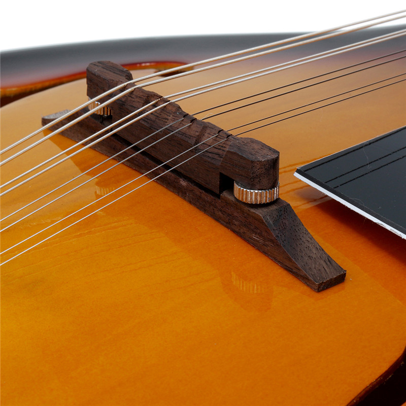 Zèbre coucher de soleil palissandre 8 cordes un Type guitare basse électrique mandoline 20 Fret ukulélé pour Instruments à cordes musicales cadeau amoureux - 4