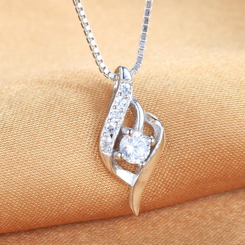 s925 jen láska série jednoduché módní náhrdelník dárek pro lásku doprava zdarma 2019 nový stříbrný přívěsek