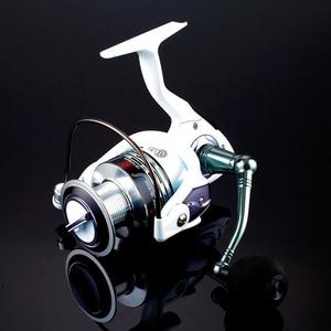 Image 2 - High Quality Brand 14BB Fishing Reel CNC Rocker Arm Spinning Reel White Color Carp Fishing Feeder Reel Fishing Fishing Tackl
