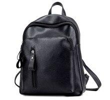 Для женщин рюкзак высокое качество из искусственной кожи школьная сумка-рюкзак Mochila Escolar для подростков Обувь для девочек топ-ручка Рюкзак Дорожная Сумка