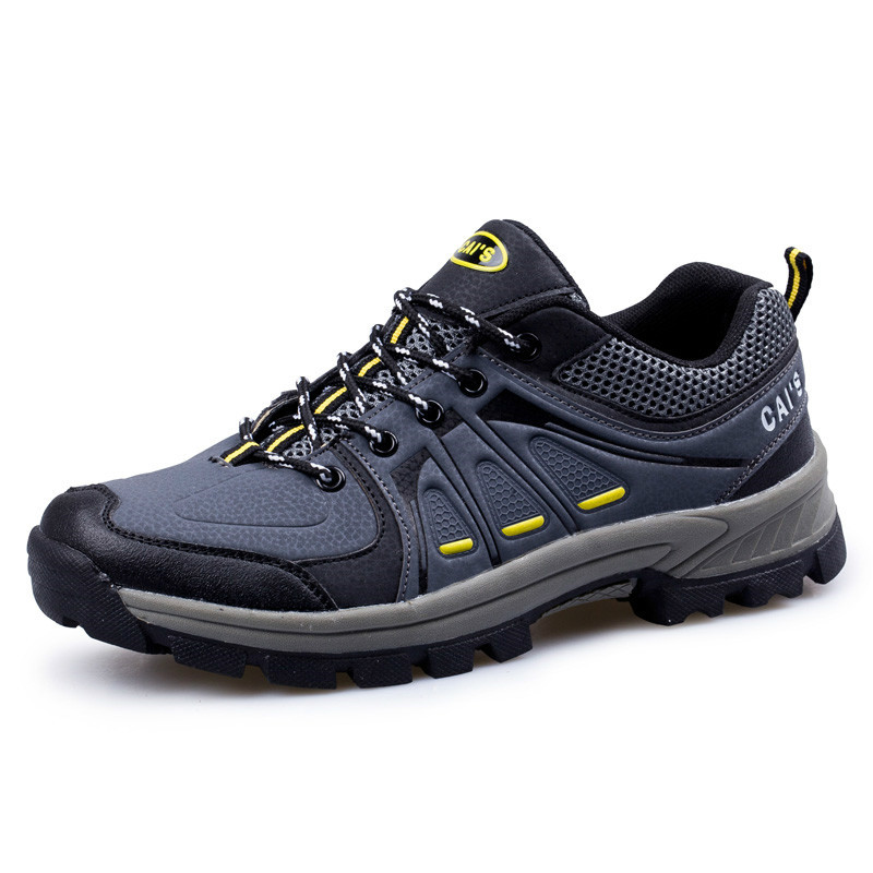 KERZER 2017 Outdoor Mens Boots Spring/Autumn Mountain Shoes Men Gray/Black Hiking Sneakers Anti-Slippery Men Climbing Shoes 2pcs car styling right left fog light lamp w h11 halogen 12v 55w bulb assembly for nissan tiida hatchback c11x 2007 2011 2012