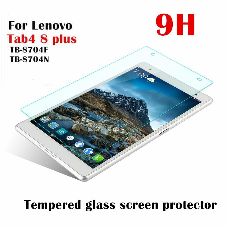 Tempered Glass For Lenovo Tab 4 8 Plus TB-8704F TB-8704X TB-8704N TB-8704 Tablet Screen Protector Film 8.0 Inch Guard 9H 0.3mm