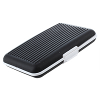 5 pcs of Wallet Silicone Card Holder - Black