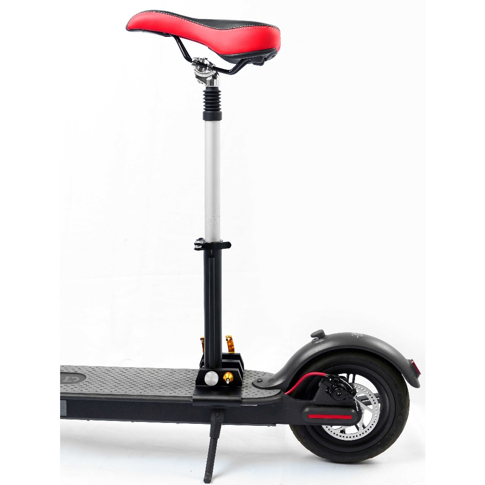 купить M365 Xiaomi Electric Scooter Seat Foldable Saddle Shock Absorbing Seat Comfortable Folding Chair for Xiaomi Electric Scooter DIY по цене 6204.96 рублей