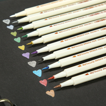 Marker-Pen Paint-Brush Crafts Card-Making STA Metallic for DIY Photo-Album