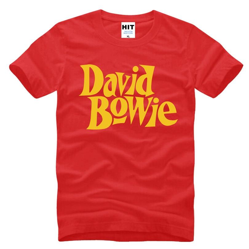 David Bowie Rock Music Memorial Männer T-Shirt T-Shirt Männer 2016 - Herrenbekleidung - Foto 6