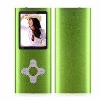 1pc Portable 8GB Slim Digital MP3 Player 1 8inch LCD Screen FM Radio Music Player Support
