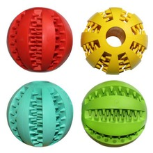 Rubber Toy Chew Ball / Teeth Cleaning dog ball