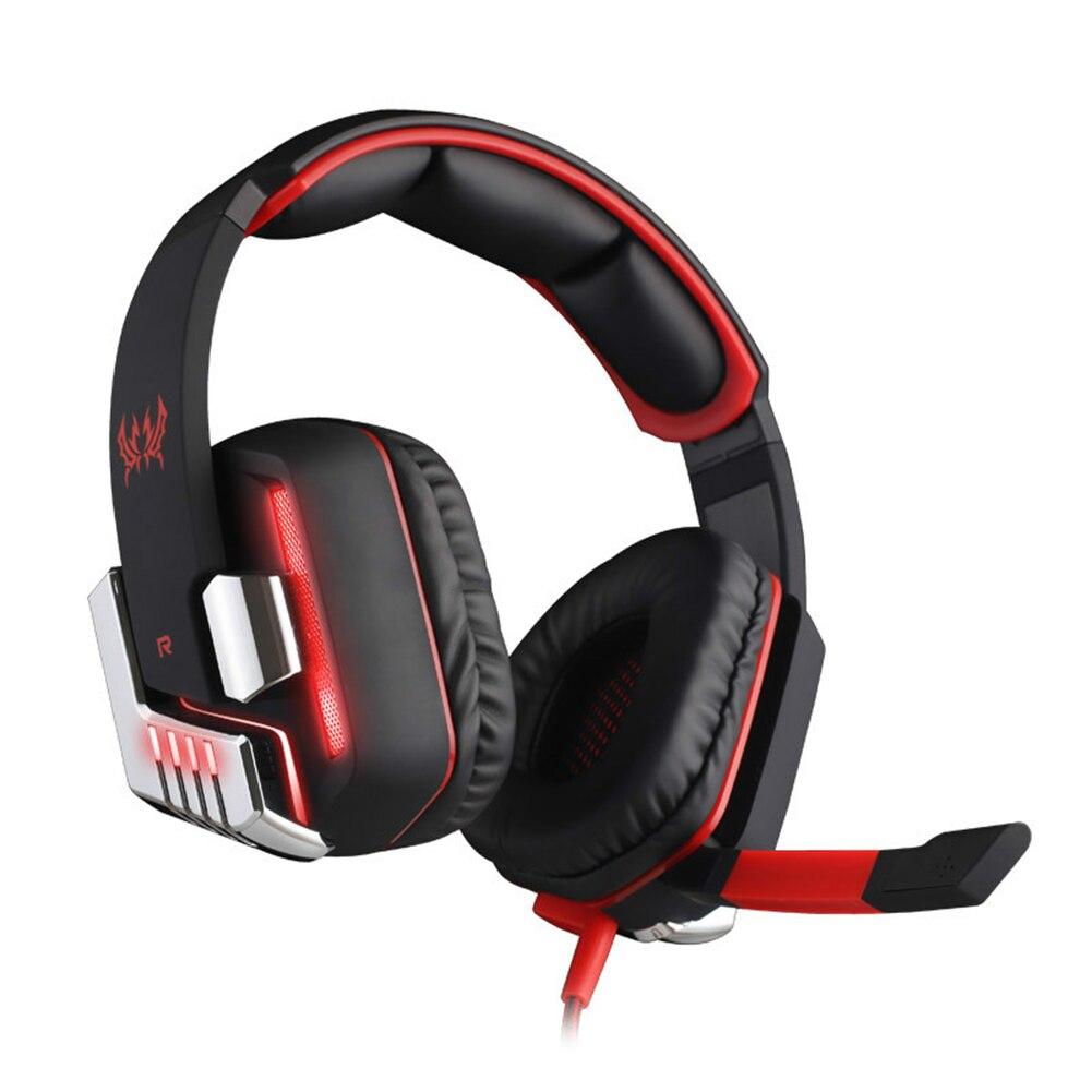 ФОТО Ecouteur g8200 gaming headphone virbrated black headset usb earphone led+mic laptop comfortable wearing high performance