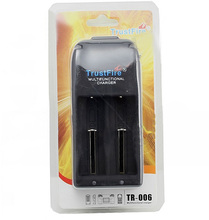 30pcs/lot TrustFire TR-006 Charger 26650 25500 26700 18650 16340 4.2 V -3.0V Li-ion Auto Stop Charging Lithium Battery