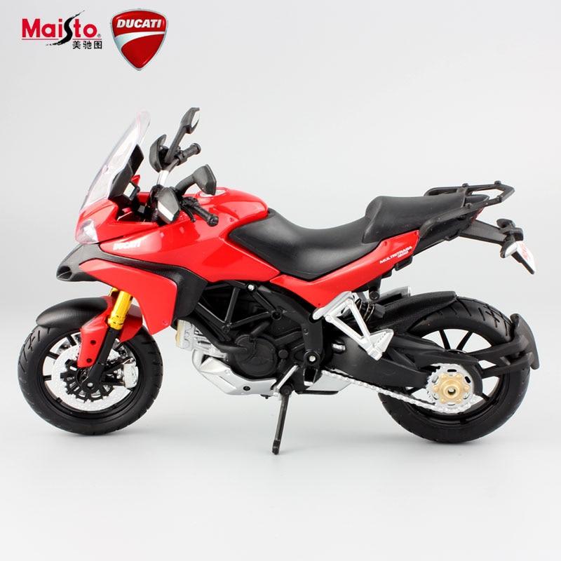 multistrada s metal diecast modele dla dzieci mini moto motocykl wycig