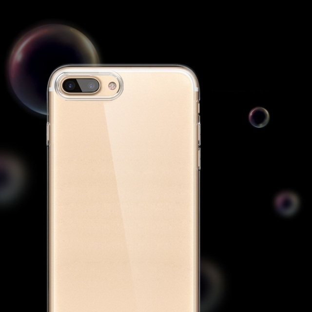 Soft Transparent Silicone Case for iPhone