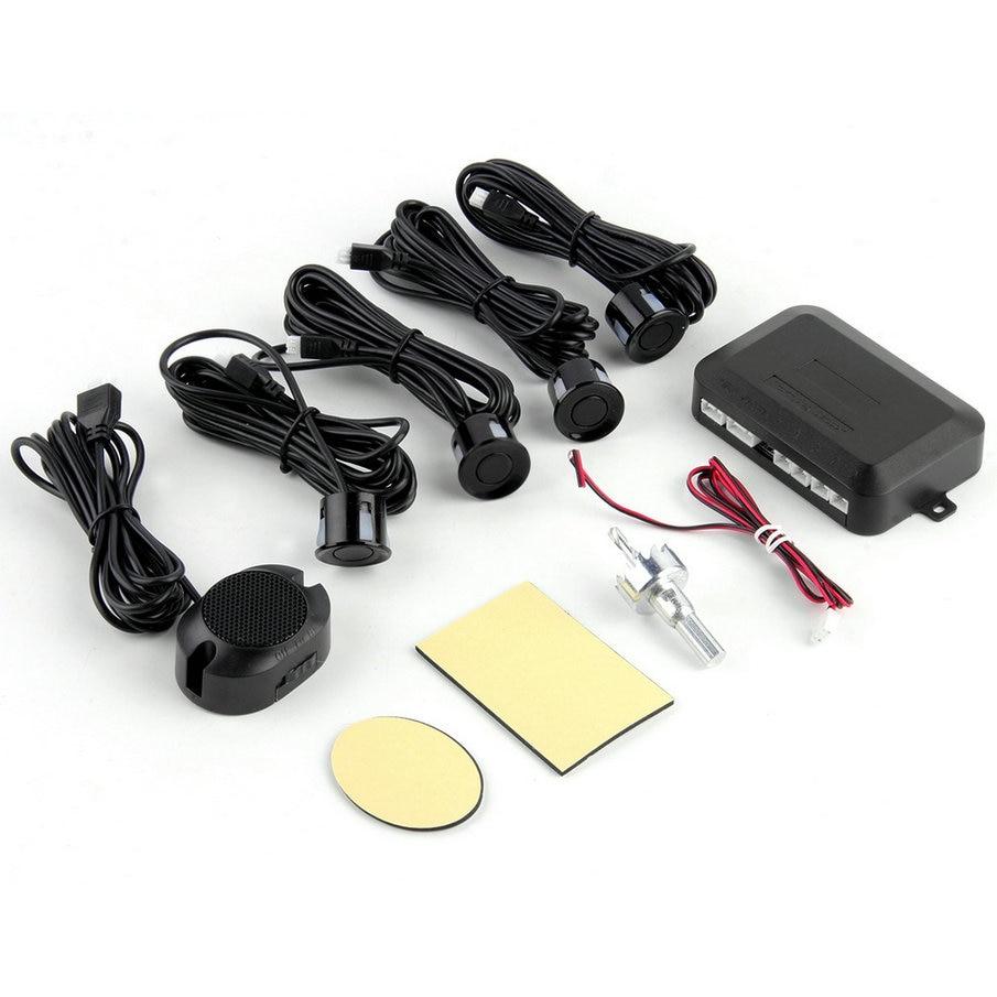 Car LED Parking Sensor Kit Display 4 Sensors 12V for all cars Reverse Assistance Backup Radar Monitor System hot selling