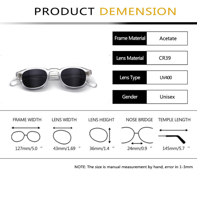 High Quality Acetate Glasses Sunglasses Men Round Small Retro Rivet Sunglasses Women Sun Glasses Uv400 Occhiali Da Sole Donna 10
