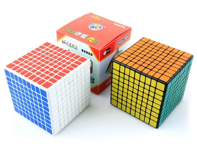 ShengShou 9x9x9 cube 9 Layers 92มิลลิเมตร9x9 Cube Puzzleสีดำ-ใน ลูกบาศก์มหัศจรรย์ จาก ของเล่นและงานอดิเรก บน   2