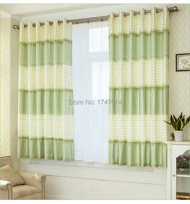 Beau Hot Selling Fresh Style 2mhigh Short Curtains Finished Product Bay Window  Bedroom Half Shading Window Curtains In Curtains From Home U0026 Garden On ...
