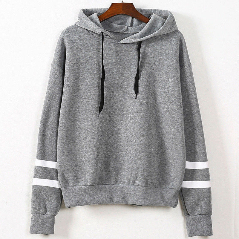 Fashion Women Long Sleeve Hoodie Sweatshirt Ladies Hooded Pullover Casual Clothing Clothes