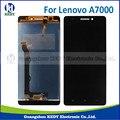 1 pcs para lenovo a7000 display lcd com tela de toque digitador assembléia repair exibição parte