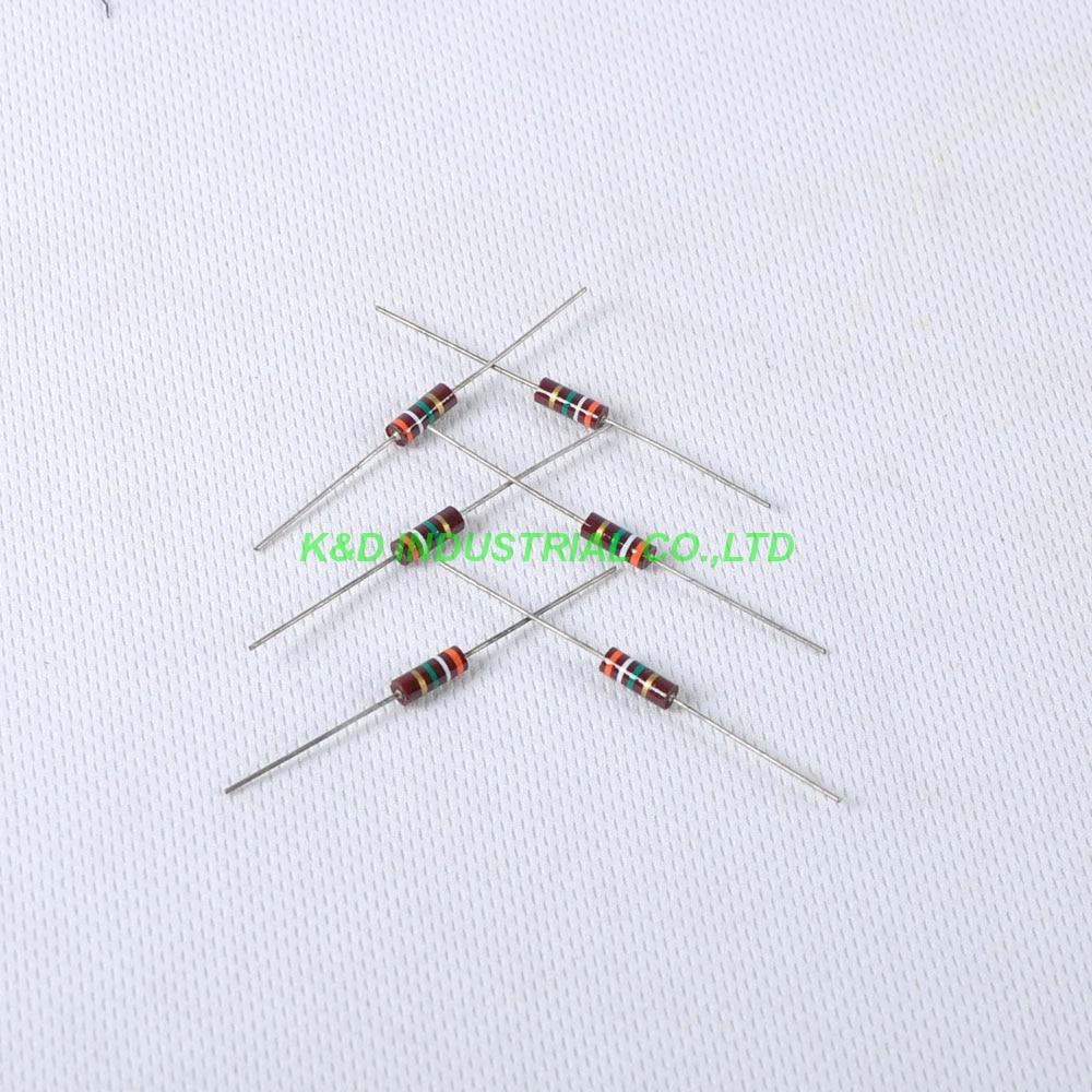 10 pcs Carbono Resistor 0.5 w 3.9 m ohm Composição do vintage