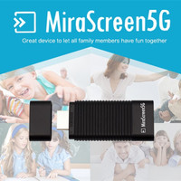 Mirescreen 5GHz HDMI Wifi Receiver Dongle 1080P Audio Video Display Miracast DLNA Airplay OTA TV Stick