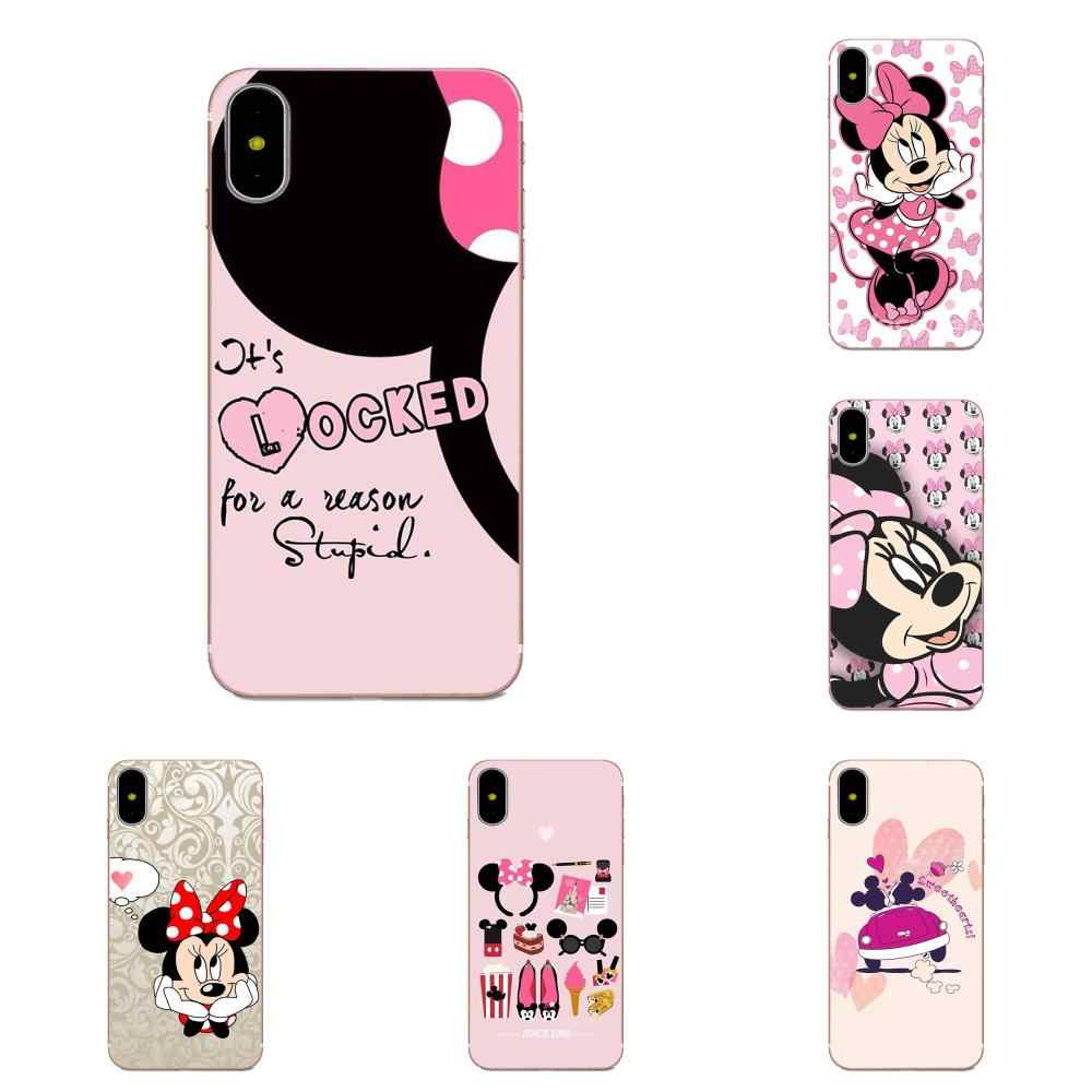 Minnie Mouse Girls Cute For Galaxy J1 J2 J3 J330 J4 J5 J6 J7 J730 J8 2015 2016 2017 2018 mini Pro Cases